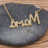 Mama Crystals Pendant Necklace