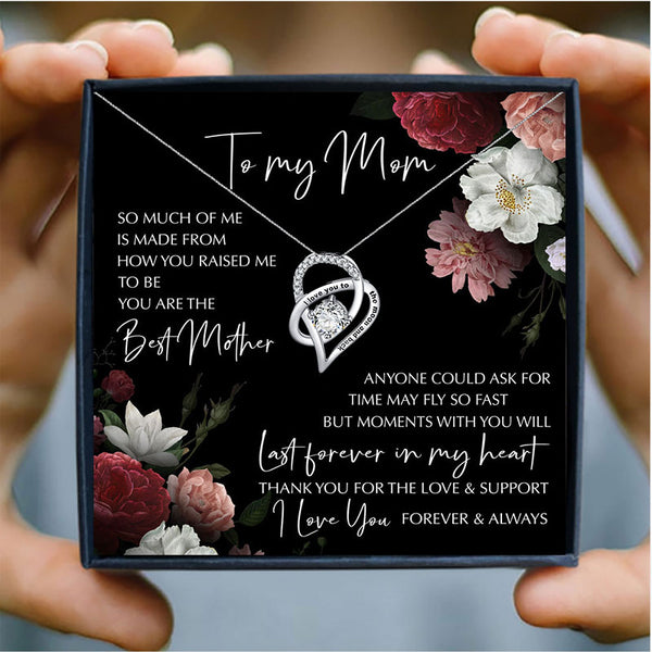 To My Mom Necklace Box Set