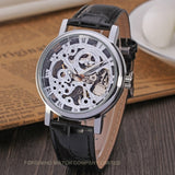 Luxury and High Quality Mechanical Skeleton Watch