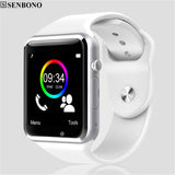 A1 WristWatch Bluetooth Smart Watch Sport Pedometer with SIM Camera Smartwatch For Android Smartphone