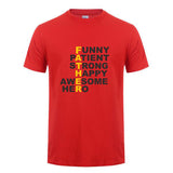 Awesome Hero Dad T-shirt