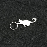 925 Sterling Silver Exquisite Cute Cat Pendant