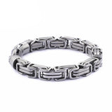 High Polished Stainless Steel Chain Link Bracelets
