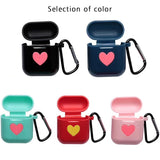 Cute Soft Silicon case and Anti Lost Rope For AirPods