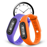 Multicolor Silicone Running Fitness Pedometer Smart Watch