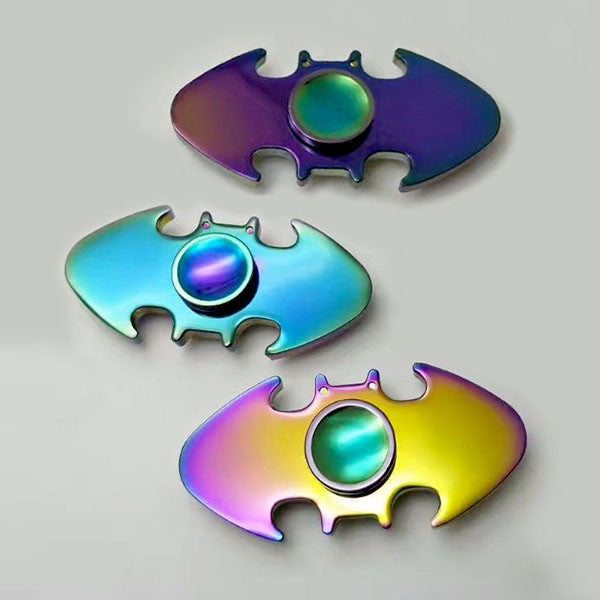 Rainbow Batman Spinner Zinc Alloy Fidget