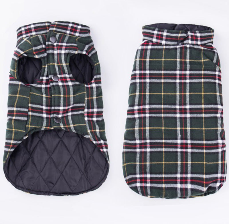 Autumn Plaid Vest
