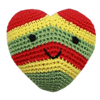 Rasta Heart Shaped Organic Toy