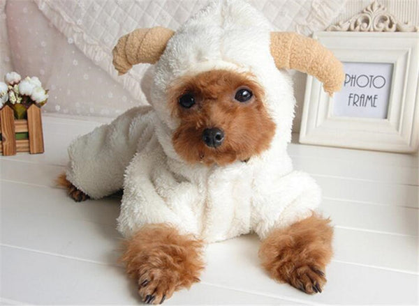 Fleece Goat Onesie - Small Dogs