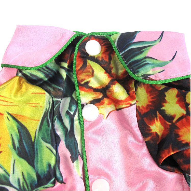 Pineapple Satin Shirt