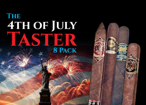 4th of July Taster (8-Pack) - Cigars2Me