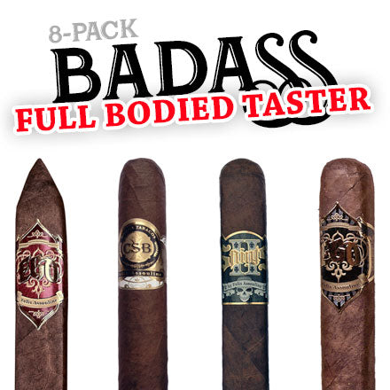 Badass Full Bodied Taster (8-Pack) - Cigars2Me