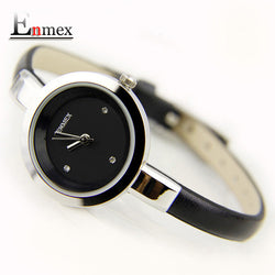 Elegance Women Creative Slim Strap Wristwatch