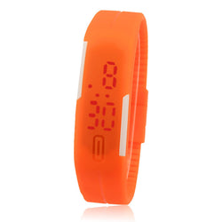 Sports Wrist Watch Ultra Thin Silicone Digital LED - Unisex