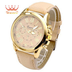 Watch Leather Brand Roman Numerals - Women - 4 Styles