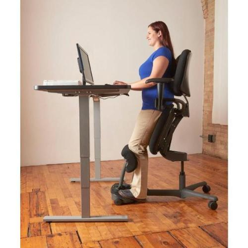 Beautiful ... Health Postures Stance Angle Sit Stand Chair 5100 Stup Desk ...