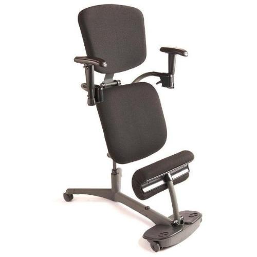 Ergo Desktop Tulean Sit Stand Comfort Leaning Stool 11114