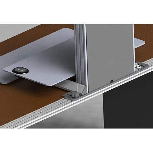Innovative 3 Monitor Electric Adjustable Stand Up Desk