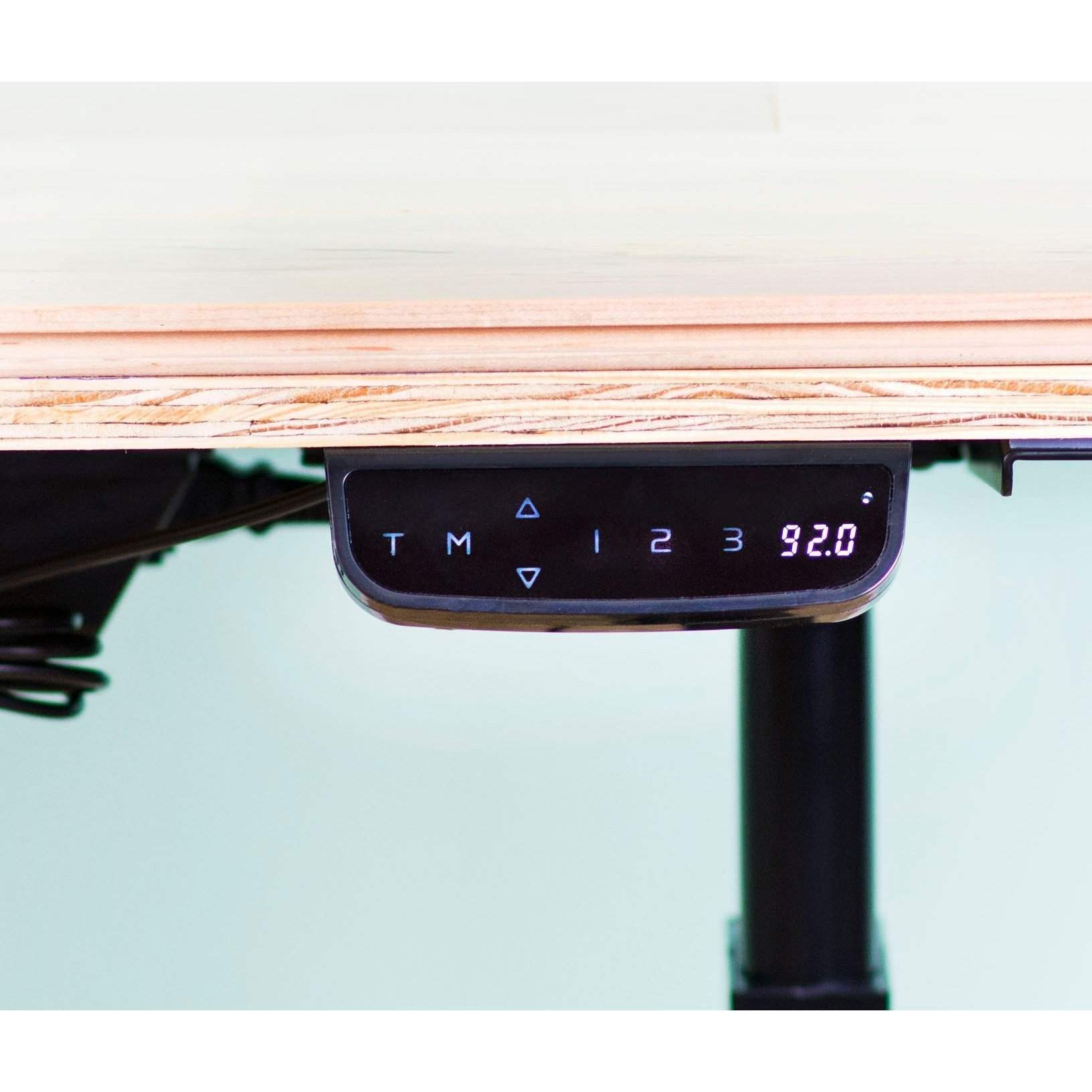Vivo Electric Stand Up Desk Height Adjustable Frame Dual Motor Desk V1