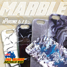 Stylish Marble effect Hard Protective Case for iPhone 6/6S