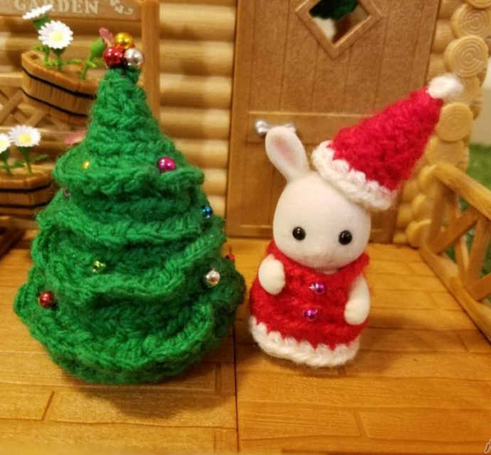Sylvanian Families Christmas Sets - Handcrafted!
