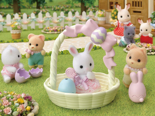 The new Hoppin Easter Set - a Sylvanian Easter treat!
