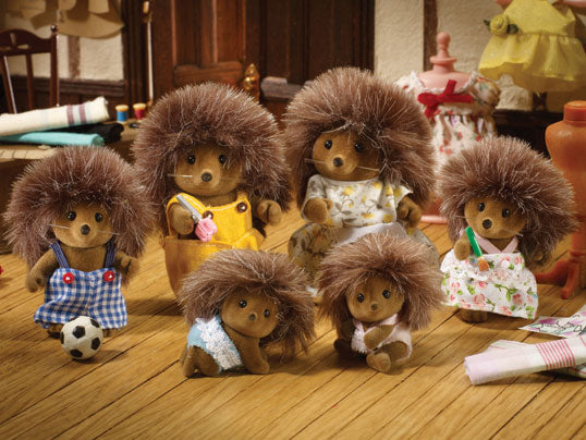 Those Crazy-haired Sylvanian Hedgehogs