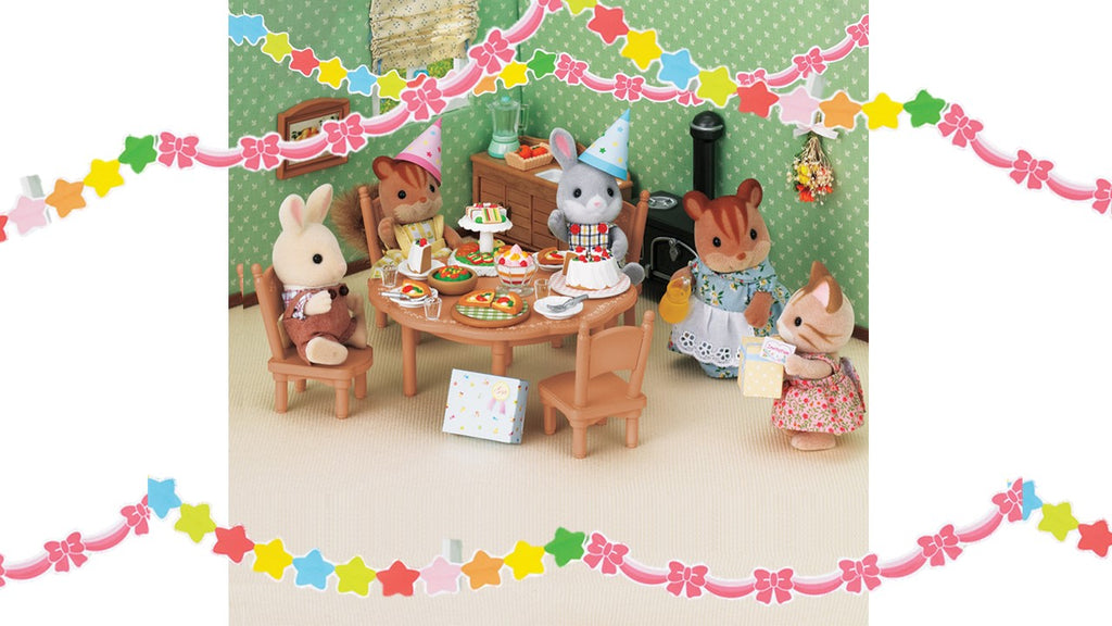 Sylvanian Families Birthday Party Ideas Easy To Do