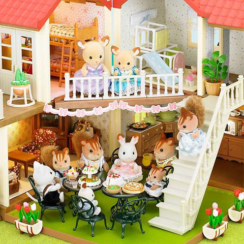Sylvanian Families decorations Beechwood Hall