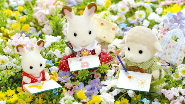 Sylvanian FAmilies art work artists