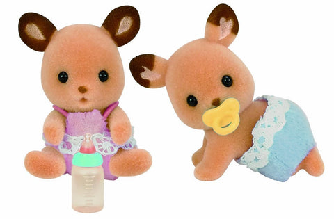 Sylvanian Families Red Deer Twins