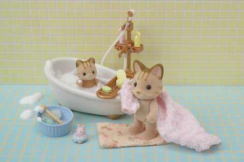 Cleaning Sylvanian FAmilies figures when dirty