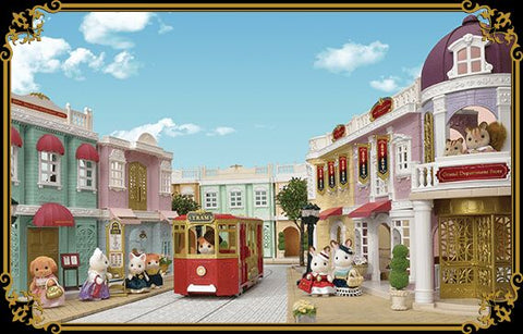 Sylvian Families new town sets