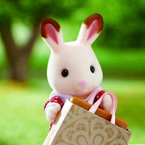 Sylvanian Families Freya Rabbit goes shopping