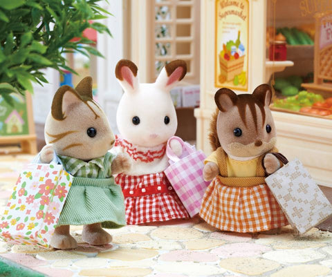 Sylvanian Famlies Shopping for Christmas gifts