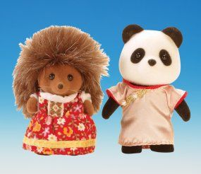 Sylvanian Families Around the World Series - Russia and China Panda