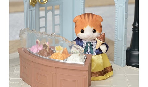 Sylvanian Families Town Series Gelato shop Mrs Maples