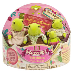 L'il Woodzeez Turtle Family