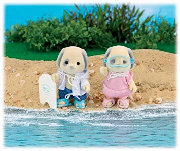 Sylvanian Families Calico critters Seaside swimming adventure