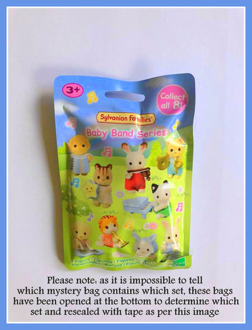 Sylvanian Families Band Series Blind Bag opened and resealed