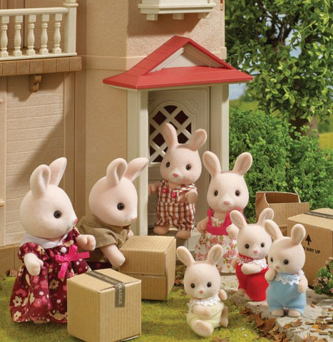 Sylvanian Famlies unpacking parcels