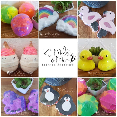 Bathbombs melts and more