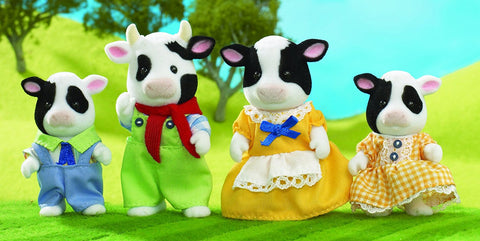 Sylvanian Families Cow Family Buttercup Cows