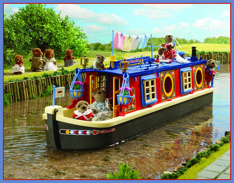 Sylvanian Families Canal Boat Rose of Sylvania