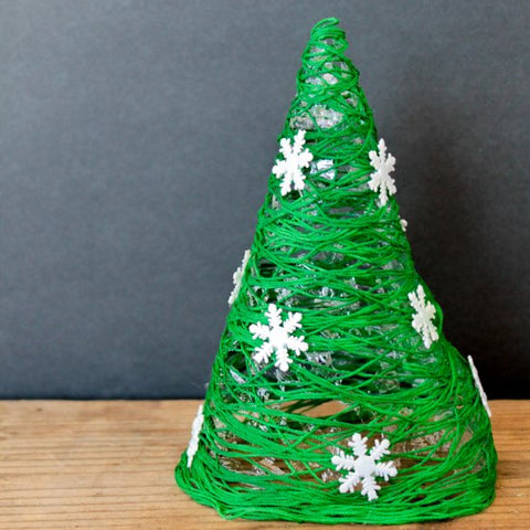 Christmas time in miniature tree craft
