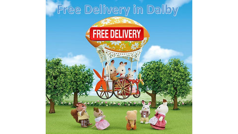 Sylvanian Families Free delivery service in Dalby