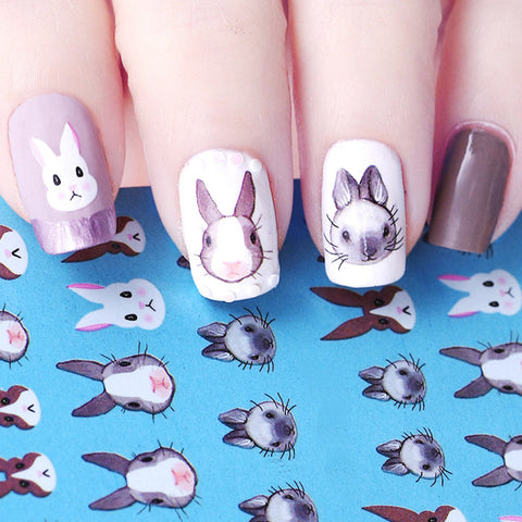 Easter bunny nail art Win at Sylvanian Families Specialty Store Australia