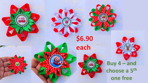 Christmas and Elf hair accessories