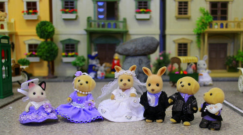 Sylvanian Families wedding