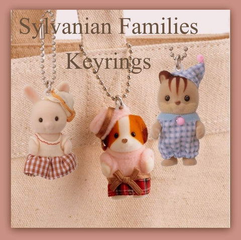 Sylvanian Families keychains
